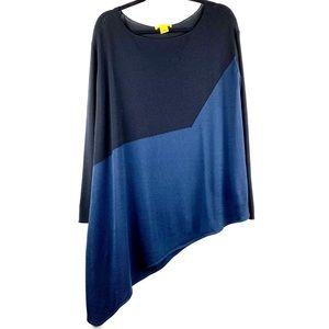 CATHERINE MALANDRINO Asymmetrical Long Sleeve Top